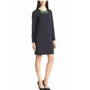 Adrianna Papell Embellished Long-Sleeve Dress